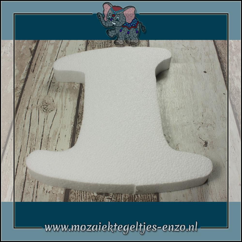 Knutselmateriaal Styropor | Groot | Piepschuim vormen | Cijfer - 1
