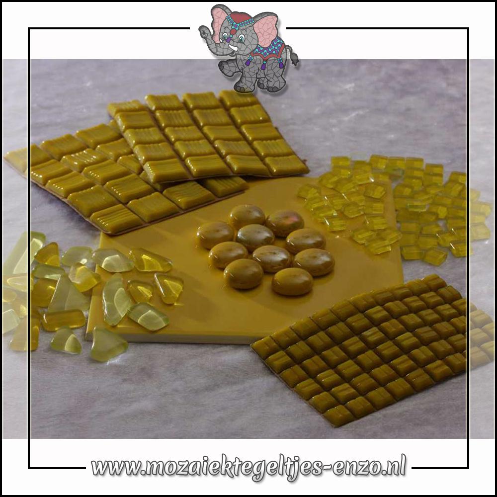 Mozaiek pakket   Gereedschap nodig   Kleurpakket Basic Line - Geel