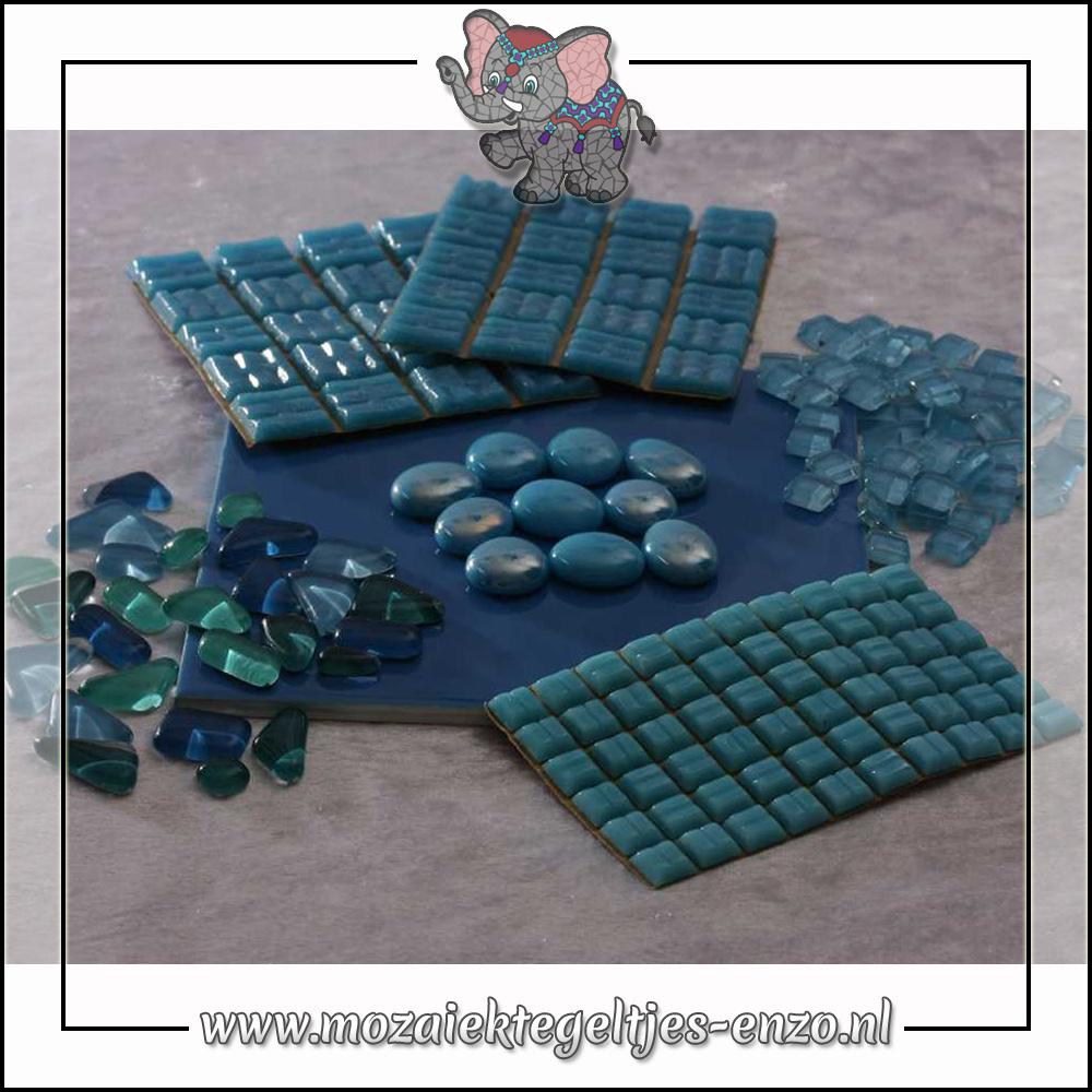 Mozaiek pakket   Gereedschap nodig   Kleurpakket Basic Line - Blauw