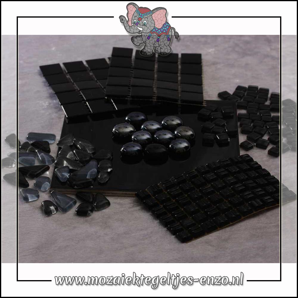 Mozaiek pakket | Gereedschap nodig | Kleurpakket Basic Line - Zwart