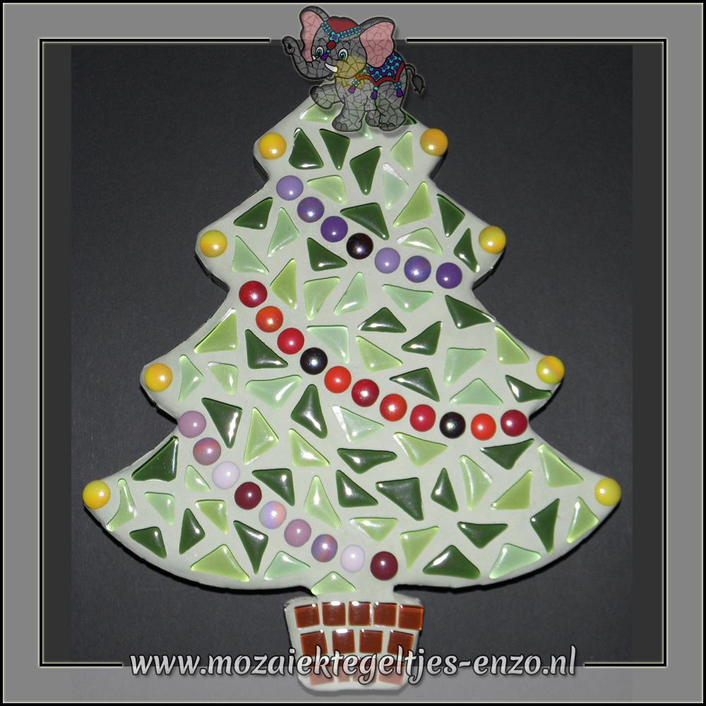 Mozaiek pakket | Geen gereedschap nodig | Kerstboom