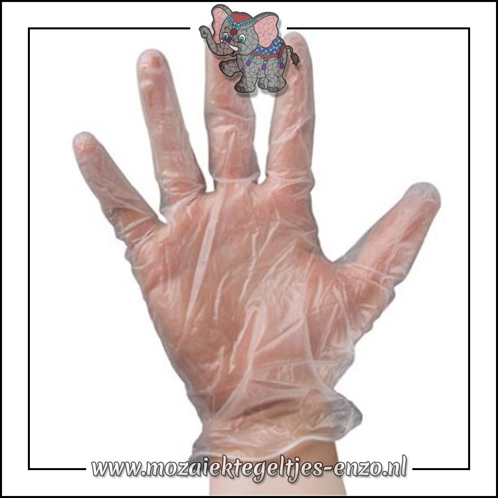 Wegwerp handschoenen | 1 paar | Bescherming van handen tijdens voegen