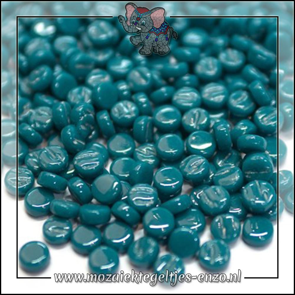 Glasdruppels Normaal | 8mm | Enkele Kleuren | 50 gram | Deep Teal