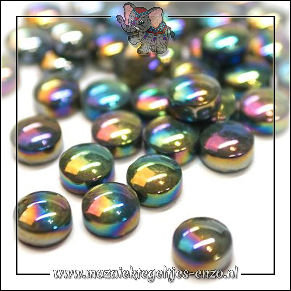 Glasdruppels Parelmoer | 12mm | Enkele Kleuren | 50 gram |Opal Black