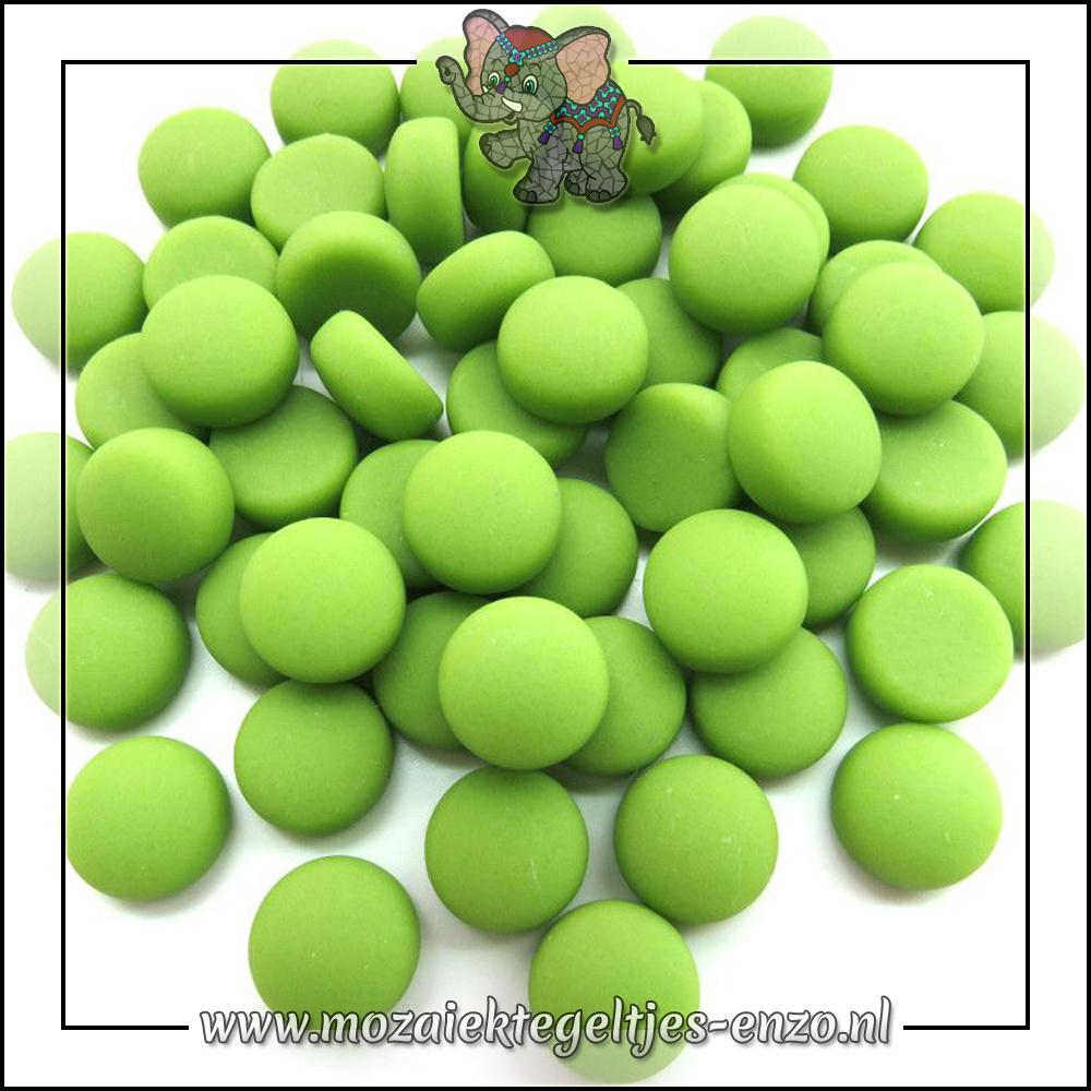 Glasdruppels Mat | 12mm | Enkele Kleuren | 50 gram |Lime