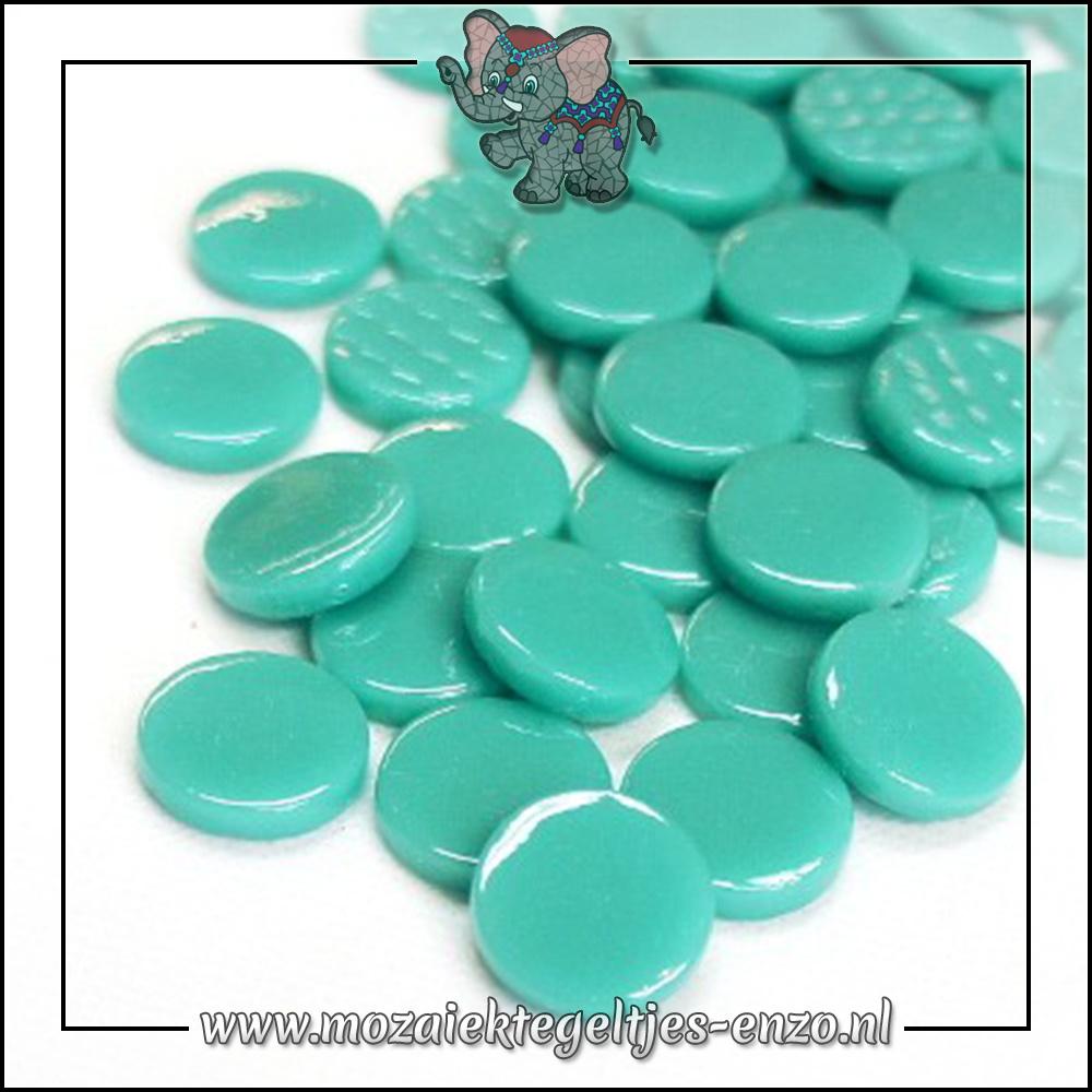 Glasdruppels Normaal   18mm   Enkele Kleuren   50 gram   Mid Teal