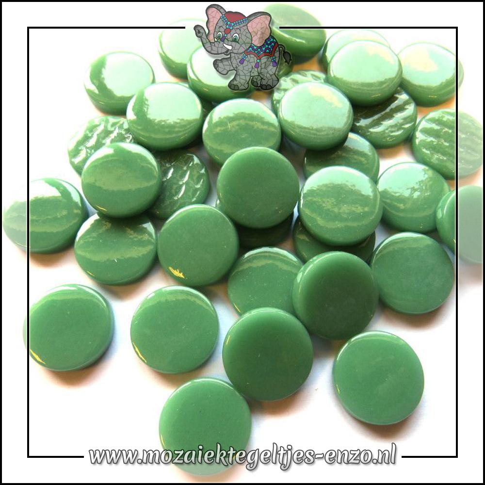 Glasdruppels Normaal   18mm   Enkele Kleuren   50 gram   Meadow Green