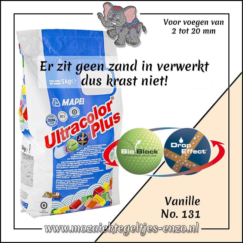 Voegmiddel | Mapei Ultracolor Plus | 250 gram |Vanille 131