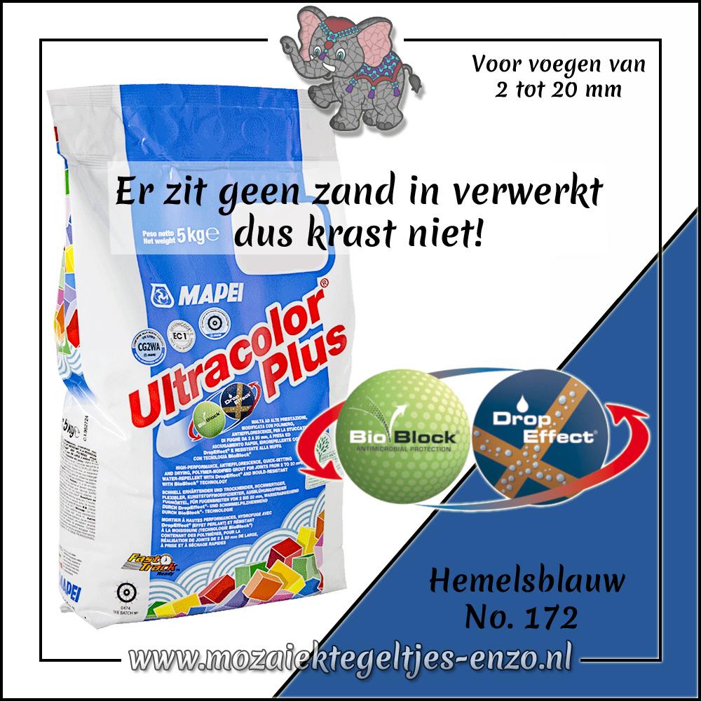 Voegmiddel   Mapei Ultracolor Plus   500 gram  Hemelsblauw 172
