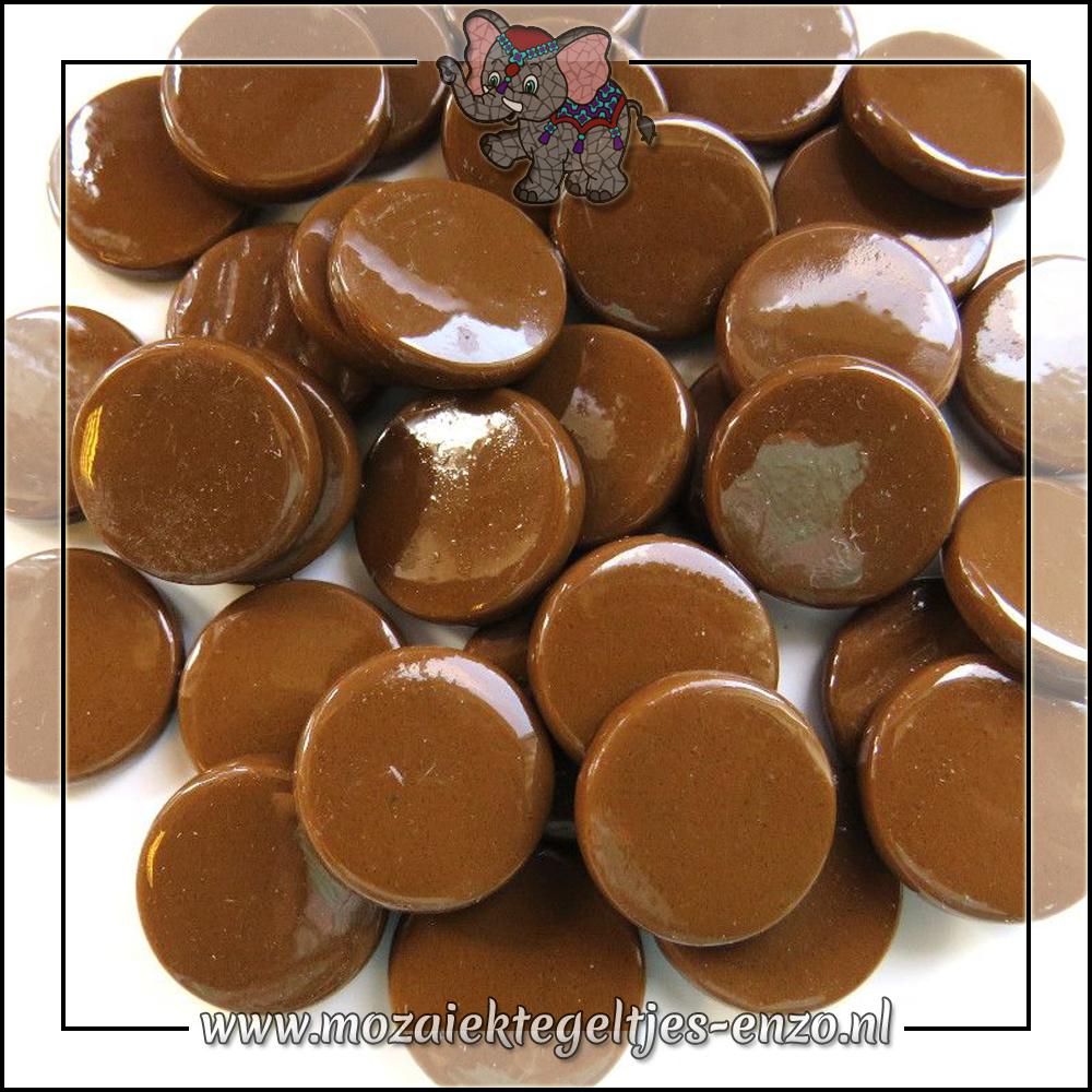Glasdruppels Normaal   18mm   Enkele Kleuren   50 gram   Coffee