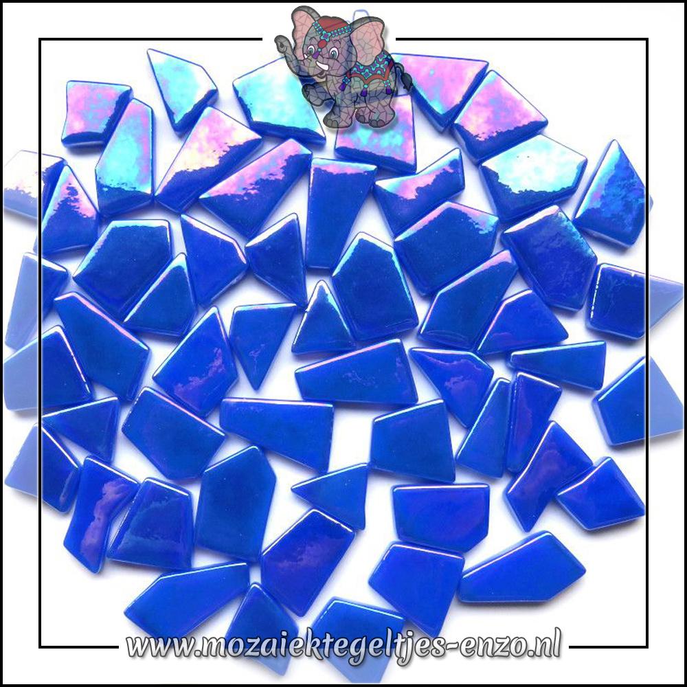 Snippets Puzzelstukjes Parelmoer | Enkele Kleuren | 50 gram |Brilliant Blue
