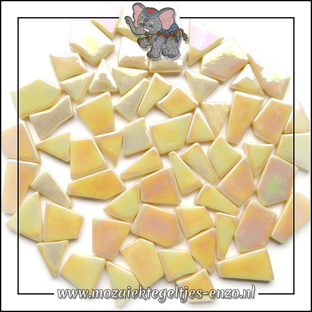Snippets Puzzelstukjes Parelmoer | Enkele Kleuren | 50 gram | Cream