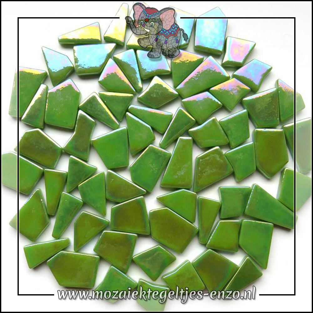 Snippets Puzzelstukjes Parelmoer | Enkele Kleuren | 50 gram | New Green