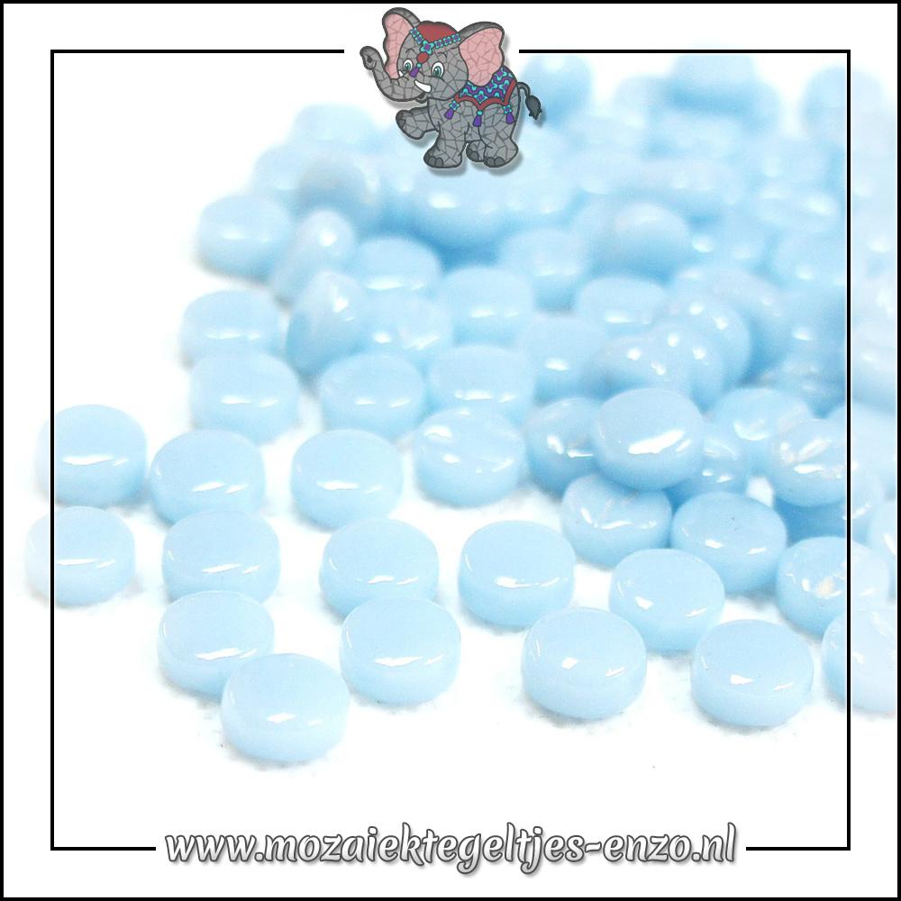 Glasdruppels Normaal | 8mm | Enkele Kleuren | 50 gram | Aqua