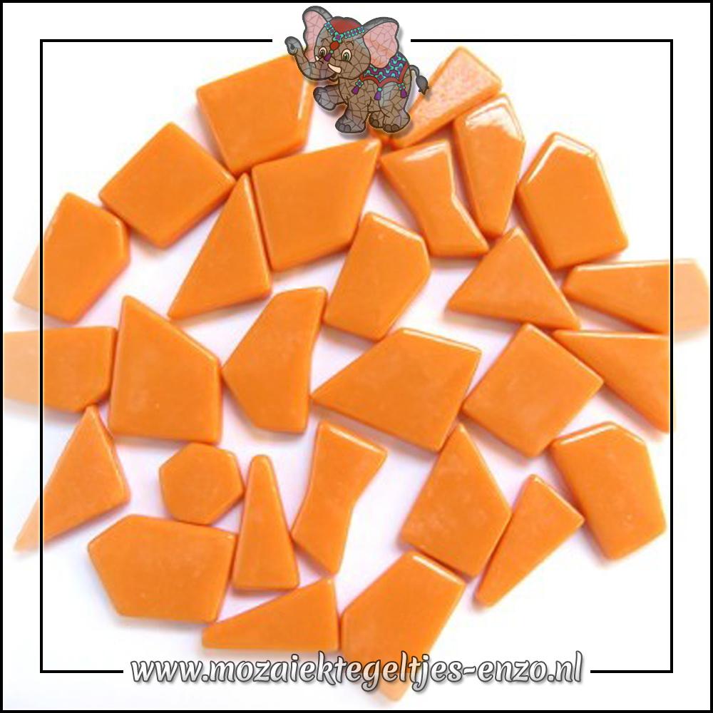 Snippets Puzzelstukjes Normaal   Enkele Kleuren   50 gram  Opal Orange