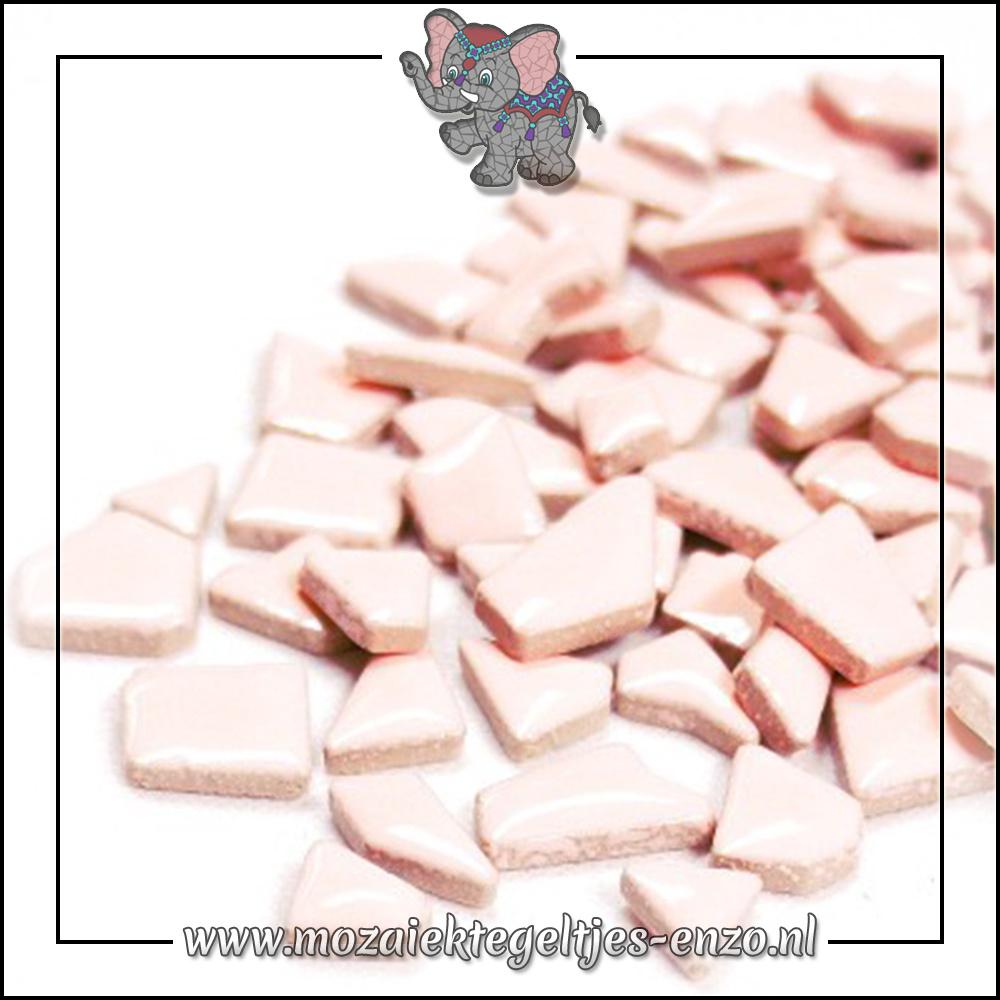 Keramiek Puzzelstukjes Normaal   Enkele Kleuren   50 gram  Sweet Pink