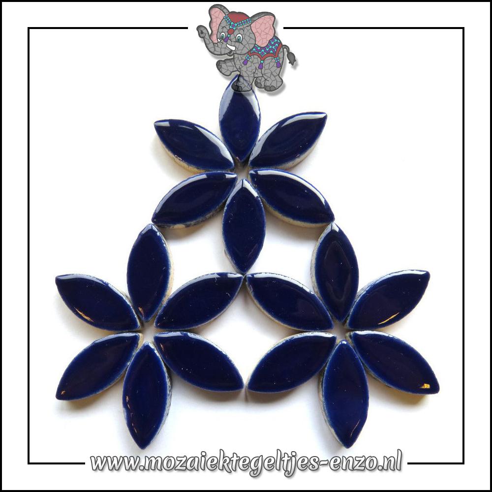 Keramiek Petals Normaal | 25mm | Enkele Kleuren | 50 gram |Indigo