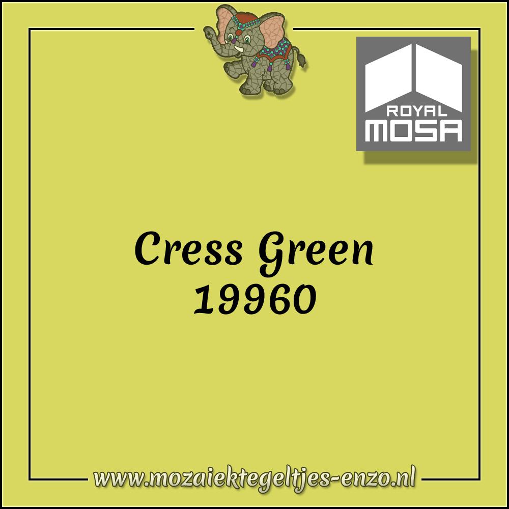 Royal Mosa Tegel Glanzend | 7,5cm | Op maat gesneden | 1 stuks |Cress Green 19960