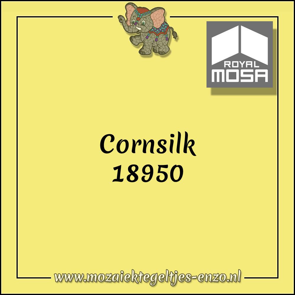 Royal Mosa Tegel Glanzend | 7,5cm | Op maat gesneden | 1 stuks |Corn Silk 18950