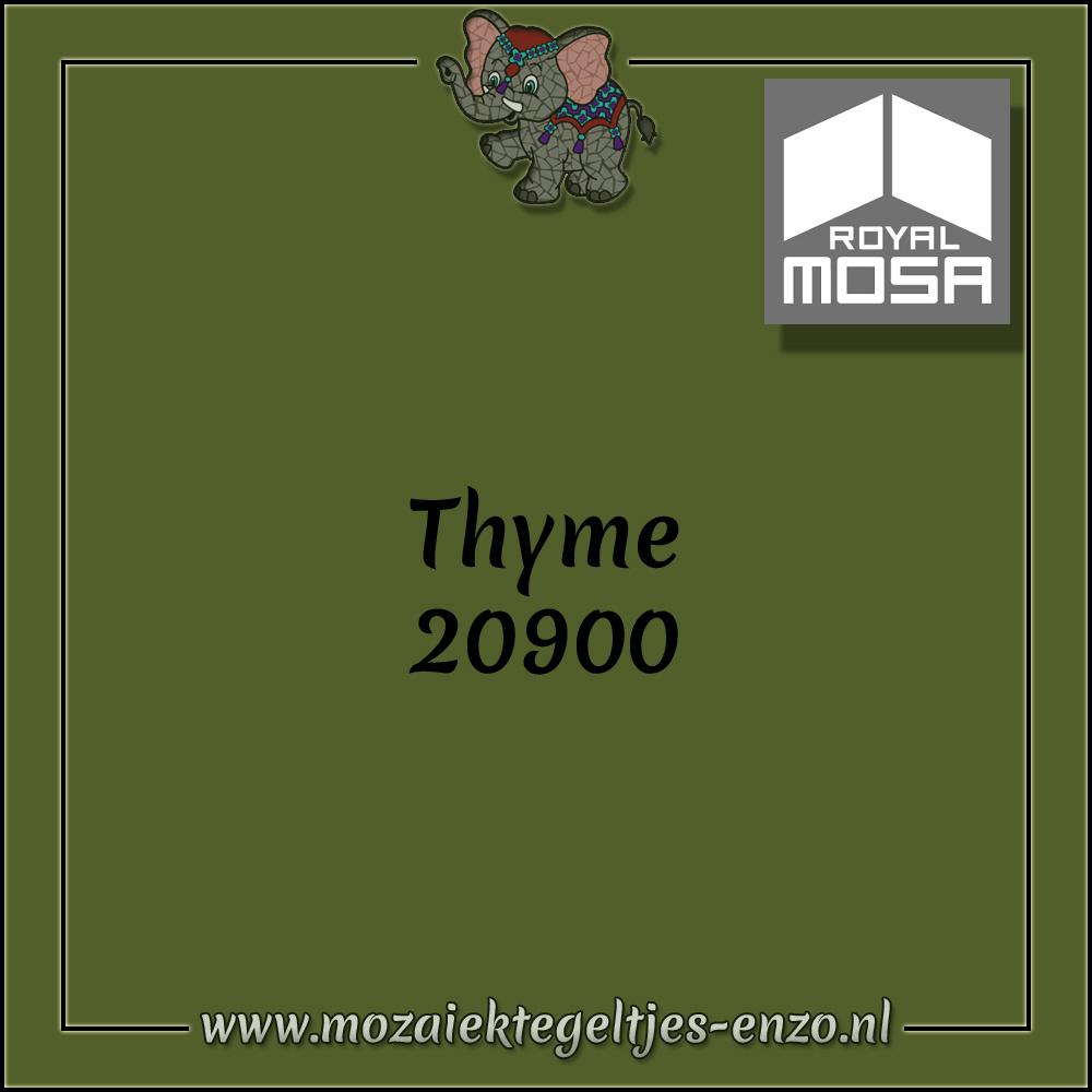Royal Mosa Tegel Glanzend | 7,5cm | Op maat gesneden | 1 stuks |Thyme 20900