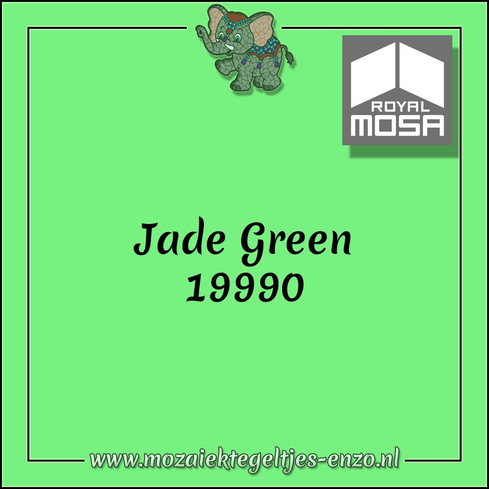 Royal Mosa Tegel Glanzend | 7,5cm | Op maat gesneden | 1 stuks |Jade Green 19990