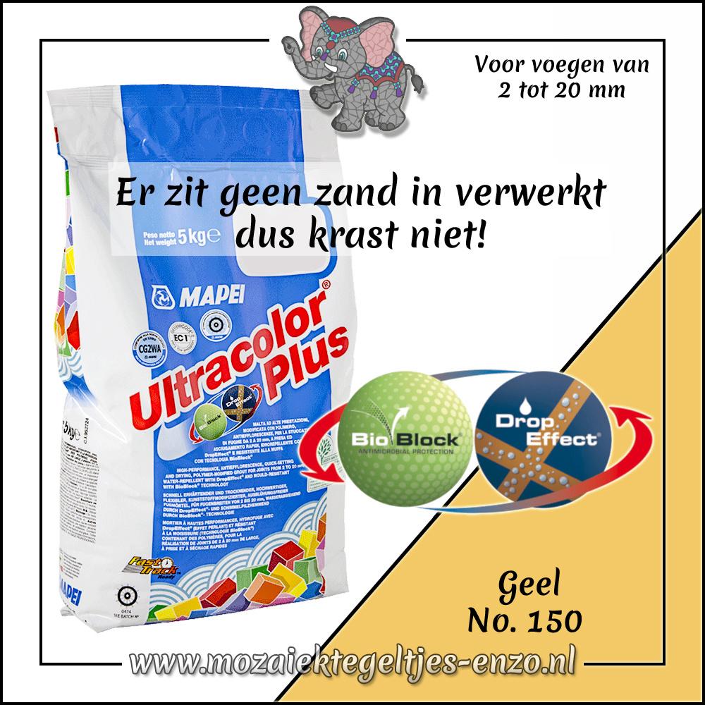 Voegmiddel | Mapei Ultracolor Plus | 500 gram |Geel 150