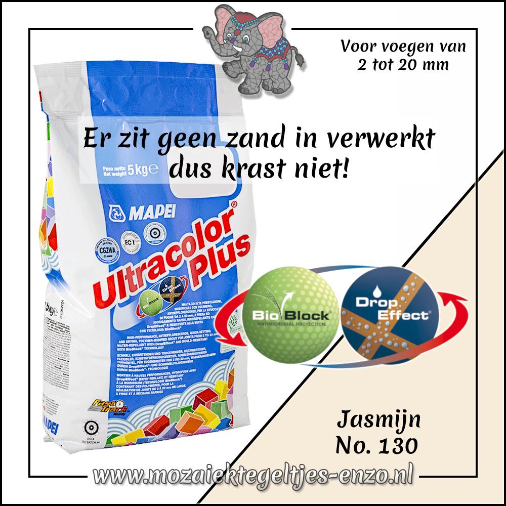 Voegmiddel | Mapei Ultracolor Plus | 250 gram |Jasmijn 130