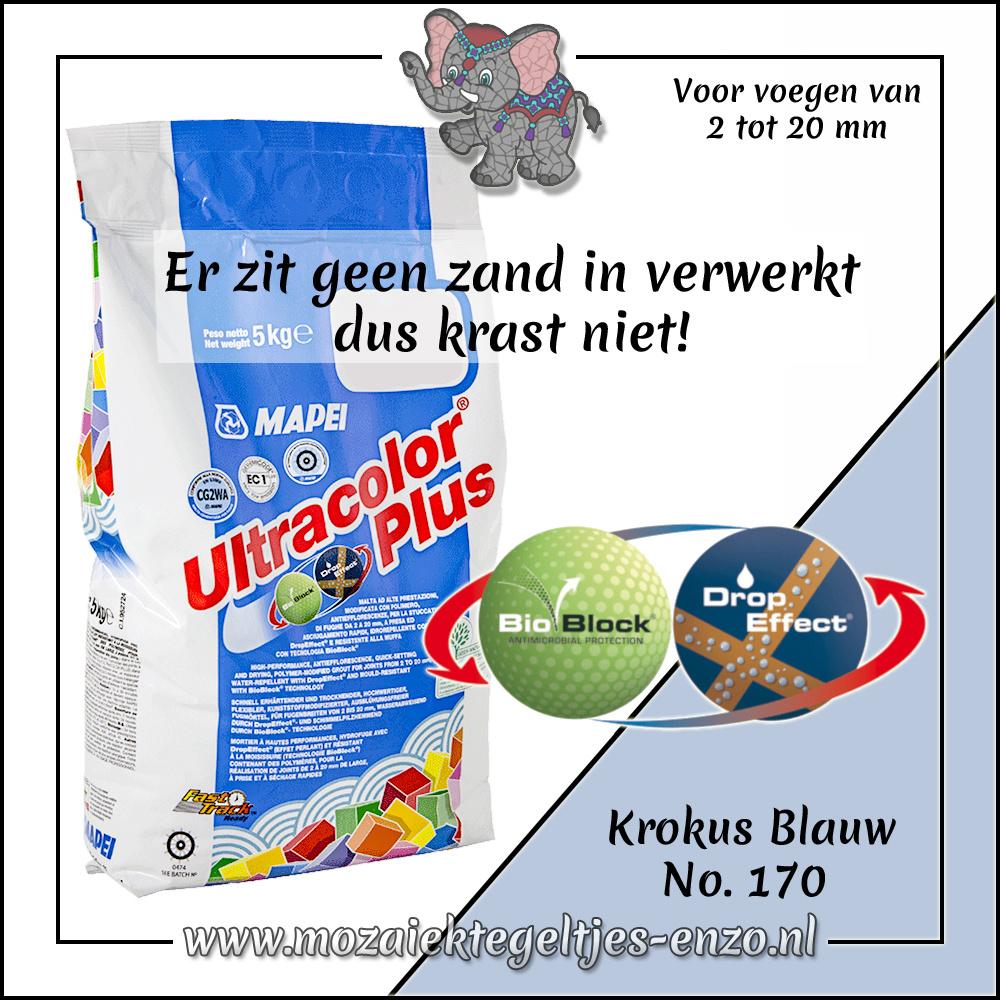Voegmiddel   Mapei Ultracolor Plus   500 gram  Krokus Blauw 170