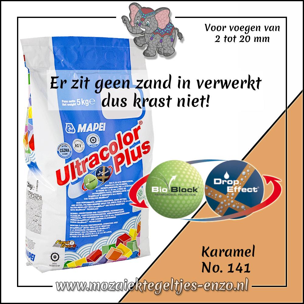 Voegmiddel | Mapei Ultracolor Plus | 500 gram |Karamel 141