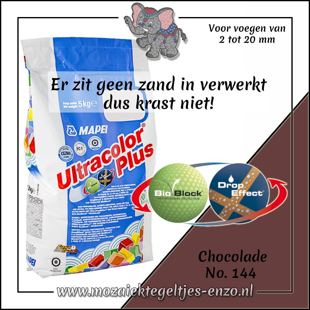 Voegmiddel | Mapei Ultracolor Plus | 250 gram |Chocolade 144
