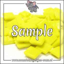 Mozaiek Sample steentje | 1cm | Basic Line | 1 stuks | Mini Iced White A02