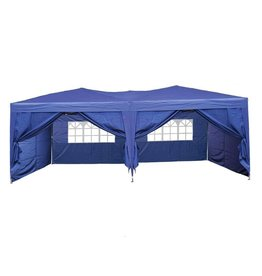 Garden Royal Garden Royal Partytent Easy Up 3x6m opvouwbaar blauw