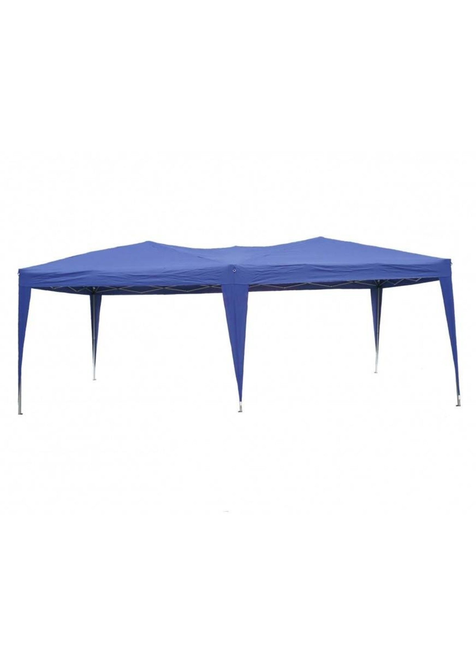 Garden Royal Garden Royal Partytent Easy Up 3x6m opvouwbaar blauw