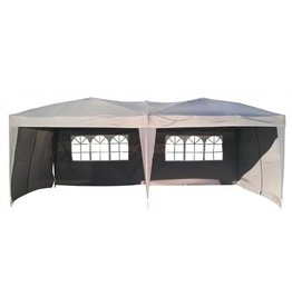 Garden Royal Garden Royal partytent Easy Up 3x6m Opvouwbaar grijs