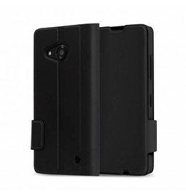 Mozo Mozo Flip Cover Lumia 550 4.7inch Flip Cover Zwart