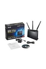 Asus ASUS RT-AC68U Wi-Fi Dual-band router Zwart