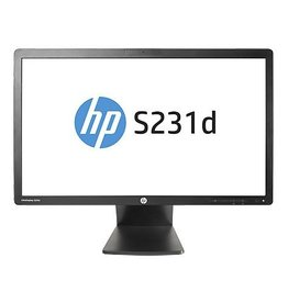 HP HP EliteDisplay S231d 23 Zwart Full HD