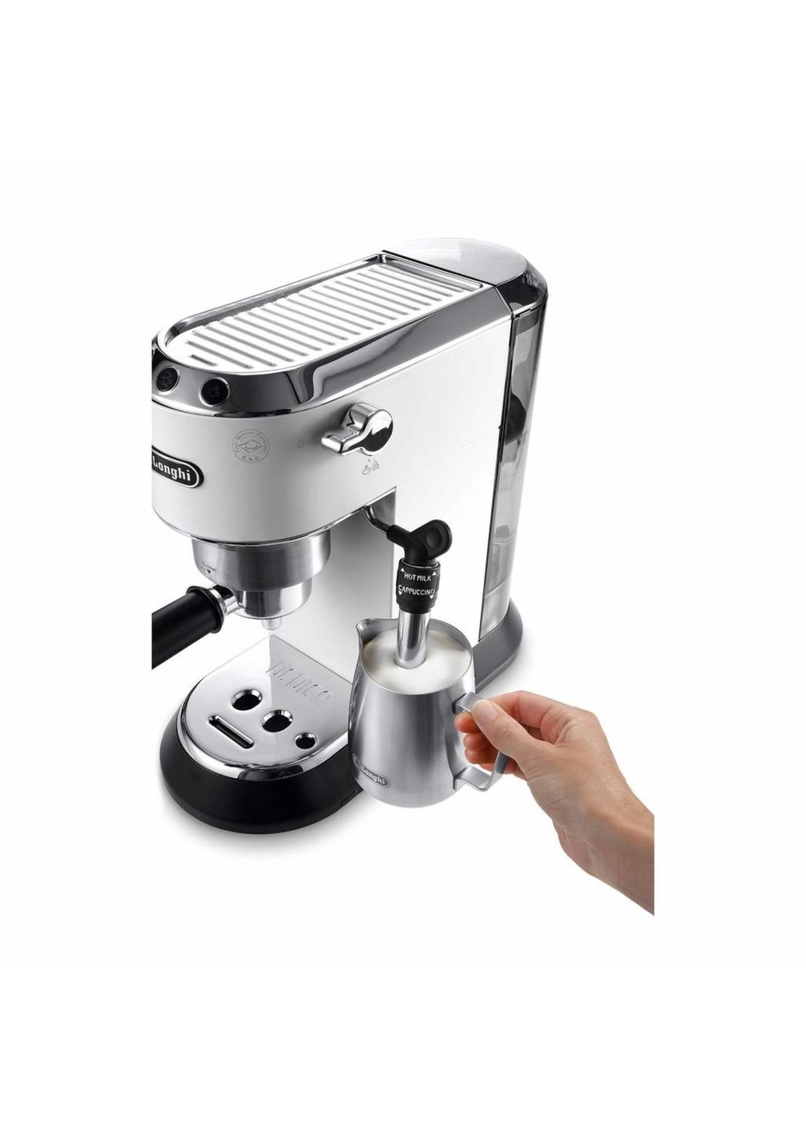 DeLonghi DeLonghi Dedica EC685.W Pistonmachine Espressoapparaat Wit