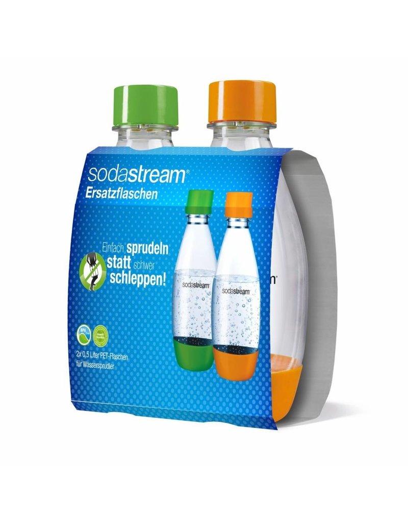 SodaStream SodaStream Drinkflessen - 2x500 ml