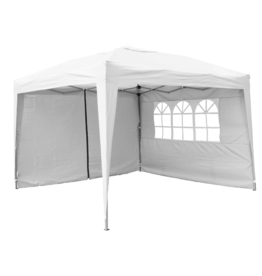Garden Royal Garden Royal Partytent 3x3m Easy Up wit met 2 zijwanden