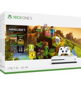 Microsoft Microsoft Xbox One S console 1 TB en Minecraft Holiday