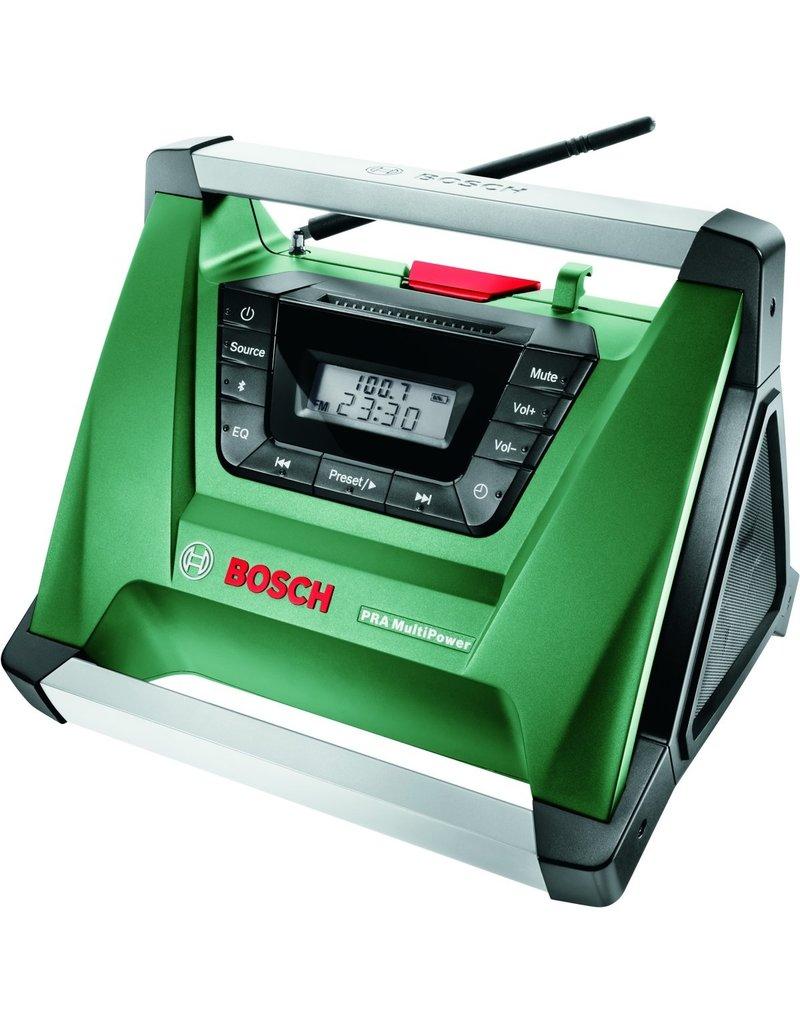 Bosch Bosch PRA MultiPower Draagbaar Zwart, Groen, Roestvrijstaal radio