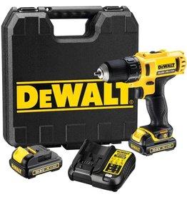 DeWALT DeWALT DCD710C2 accuboormachine met 2 accu's
