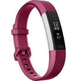 Fitbit Fitbit Alta HR wristband activity tracker OLED bedraad/draadloos rood, roestvrijstaal Koopjeshoek