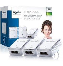 Devolo Devolo dLAN 500 duo Network Kit  Koopjeshoek