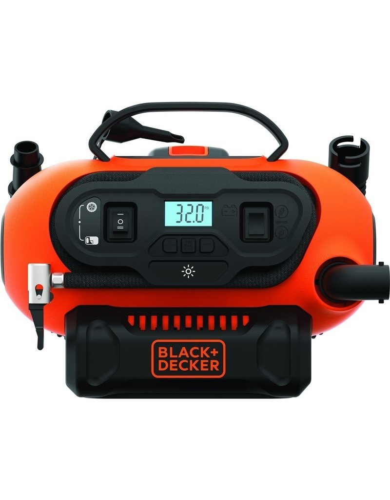 Black & Decker BLACK & DECKER - BDCINF18N-QS - AC/DC compressor 160 PSI / 11.03 bar Koopjeshoek
