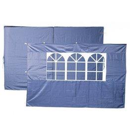 Garden Royal Garden Royal Set van 2 zijwanden blauw voor partytenten