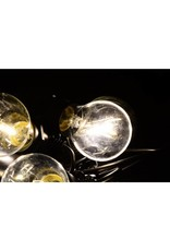 Garden Royal Feestverlichting lichtsnoer 10 LED lampen warm wit E27