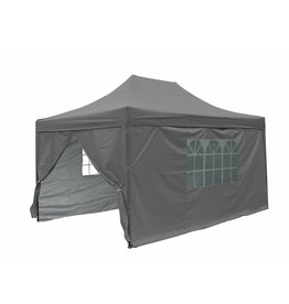 Garden Royal Garden Royal partytent Easy Up 3x4.5m grijs met zijwanden