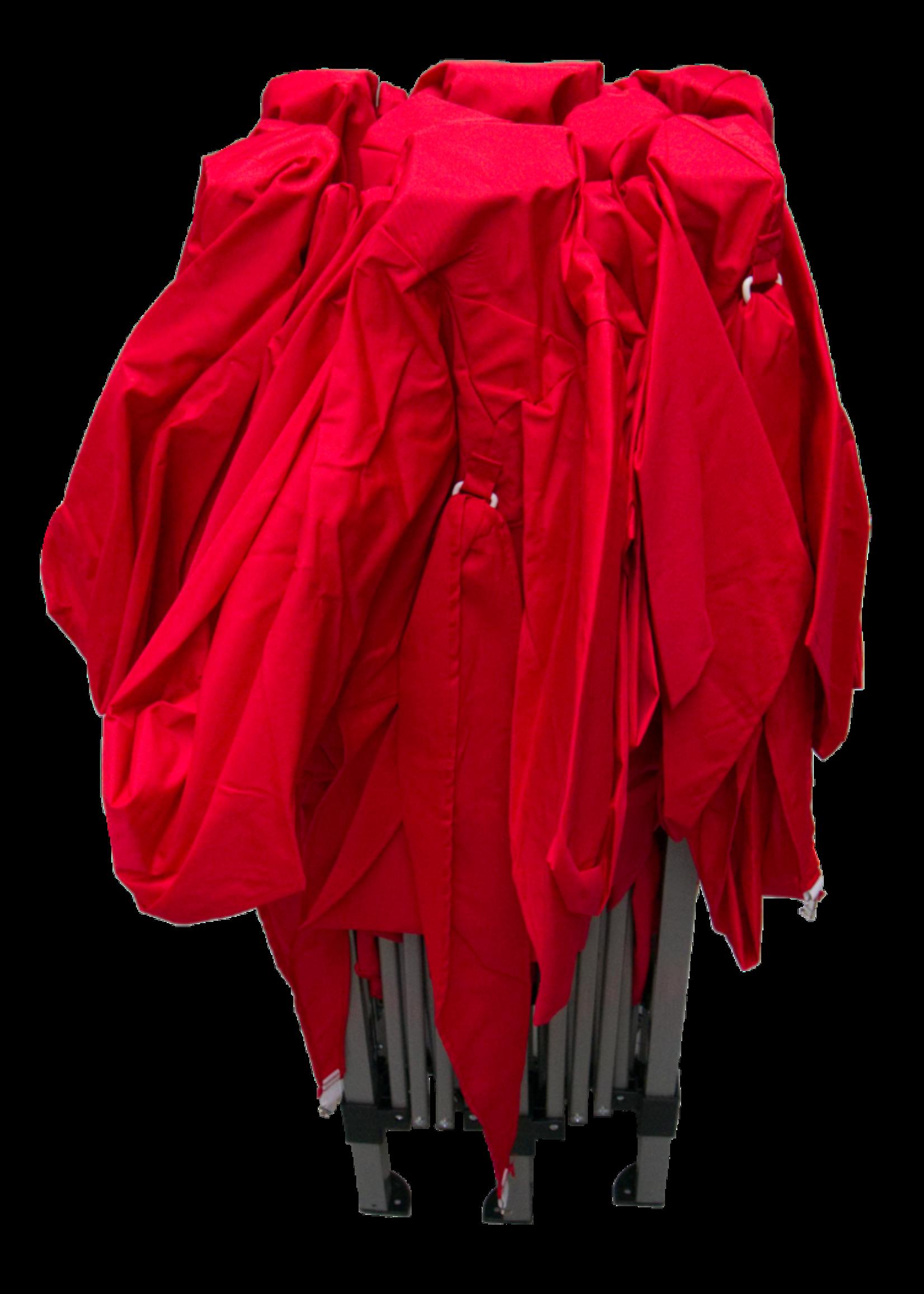 Garden Royal Garden Royal Partytent Easy Up 3x6m opvouwbaar rood